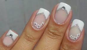 Resultado de imagem para unhas decoradas para noivas