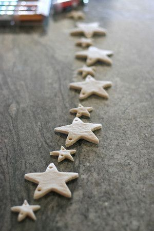 Salt Dough Ornament - might try making these with the dinkies!