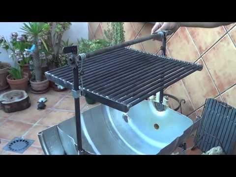 Como construir parrilla chulengo asador argentina de tambor youtube barriles pinterest - Como hacer barbacoas ...
