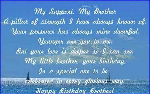 25+ Best Ideas About Happy Birthday Little Brother On