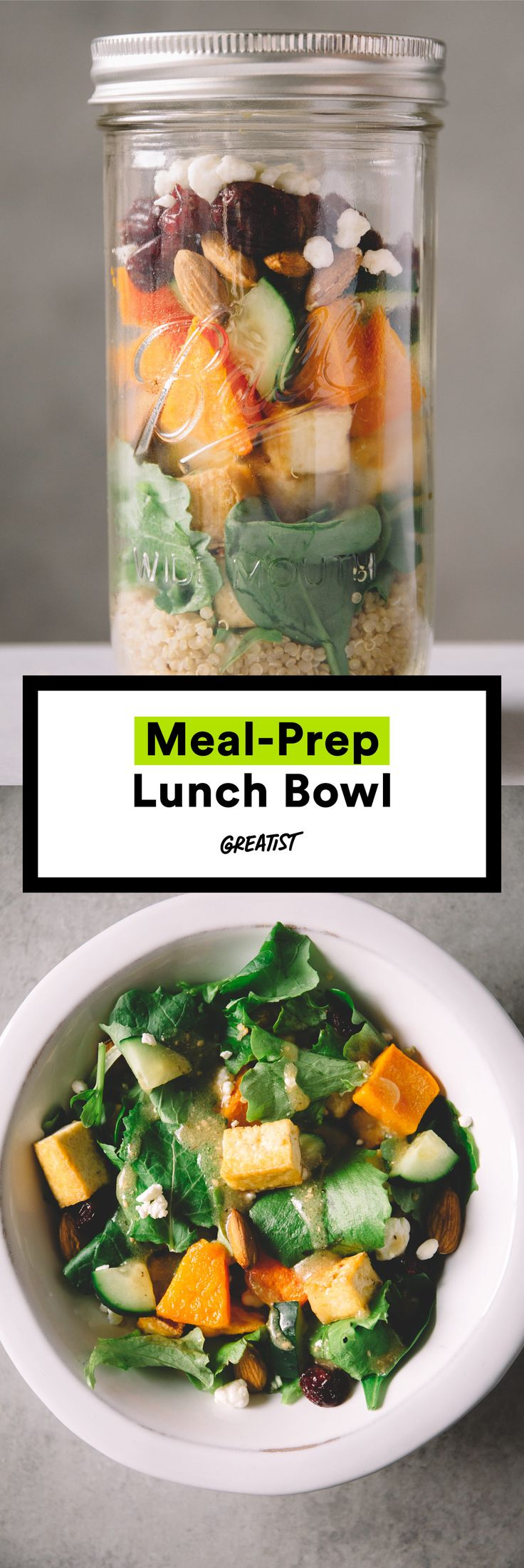Just be sure to put your name on it so coworkers keep their hands off. #greatist https://greatist.com/eat/meal-prep-lunches-to-last-all-week
