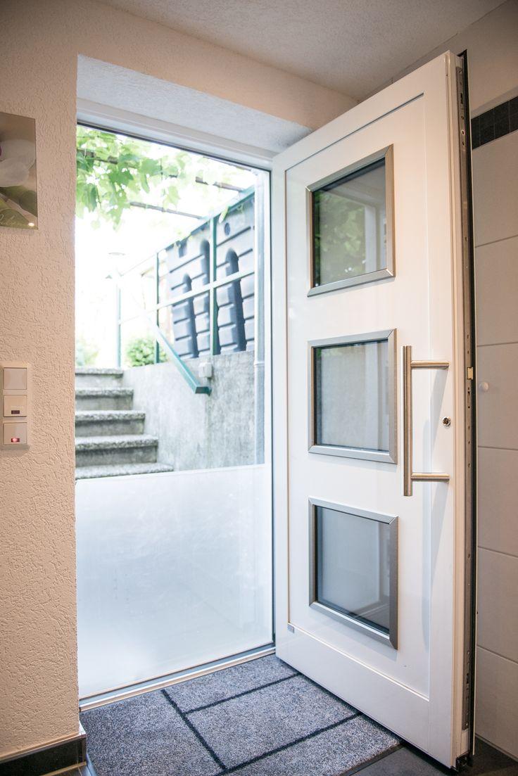 Lovely Einfache Dekoration Und Mobel Moderne Fenster Energiesparend Und Einbruchssicher #8: #Haustür Offen