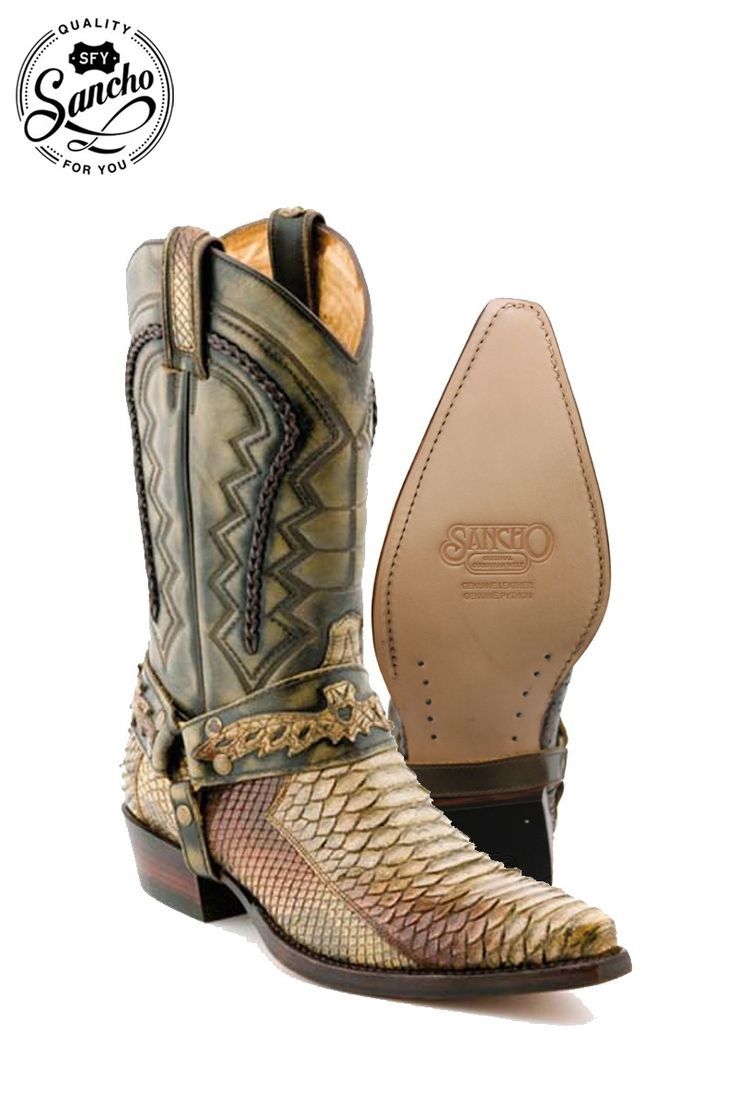 Your Sancho Boots´s online store | Cowboy Boots SINALOA ARENA PITON mod 6150