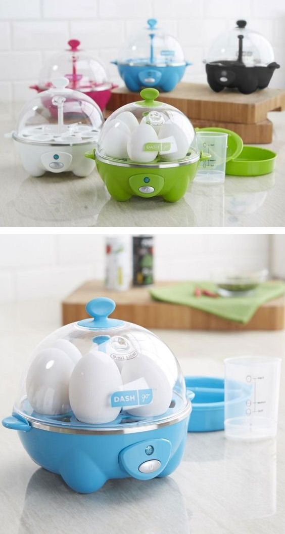 Rapid Egg Cooker // quicker than boiling eggs in water makes perfect eggs every time