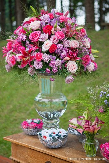 Arranjo de flores perfeito