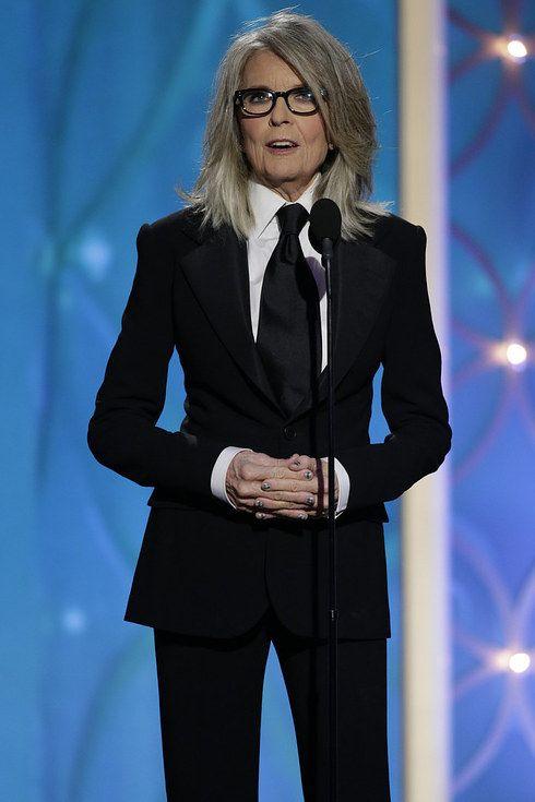 1. I cannot BELIEVE Ellen Page is not on this list... 2. Diane Keaton is f***ing fierce.  33 Women Who've Rocked Suits Better Than Men