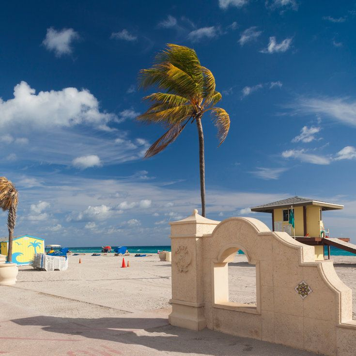Hollywood Beach, Florida - Best Beach Boardwalks - Coastal Living