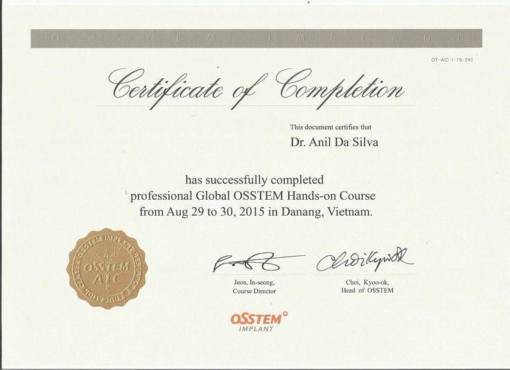 Global OSSTEM Hands-on Course 2015