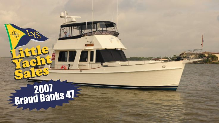 Grand Banks Heritage EU 47 Trawler Yacht for sale at Little Yacht Sales
