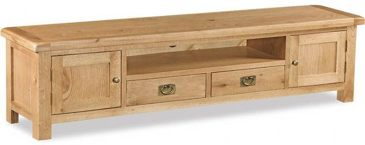 Winchester Oak Extra Large TV Unit with Drawers