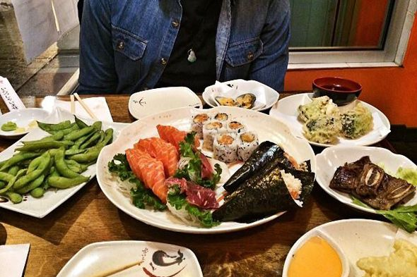 ayce sushi toronto may 2014