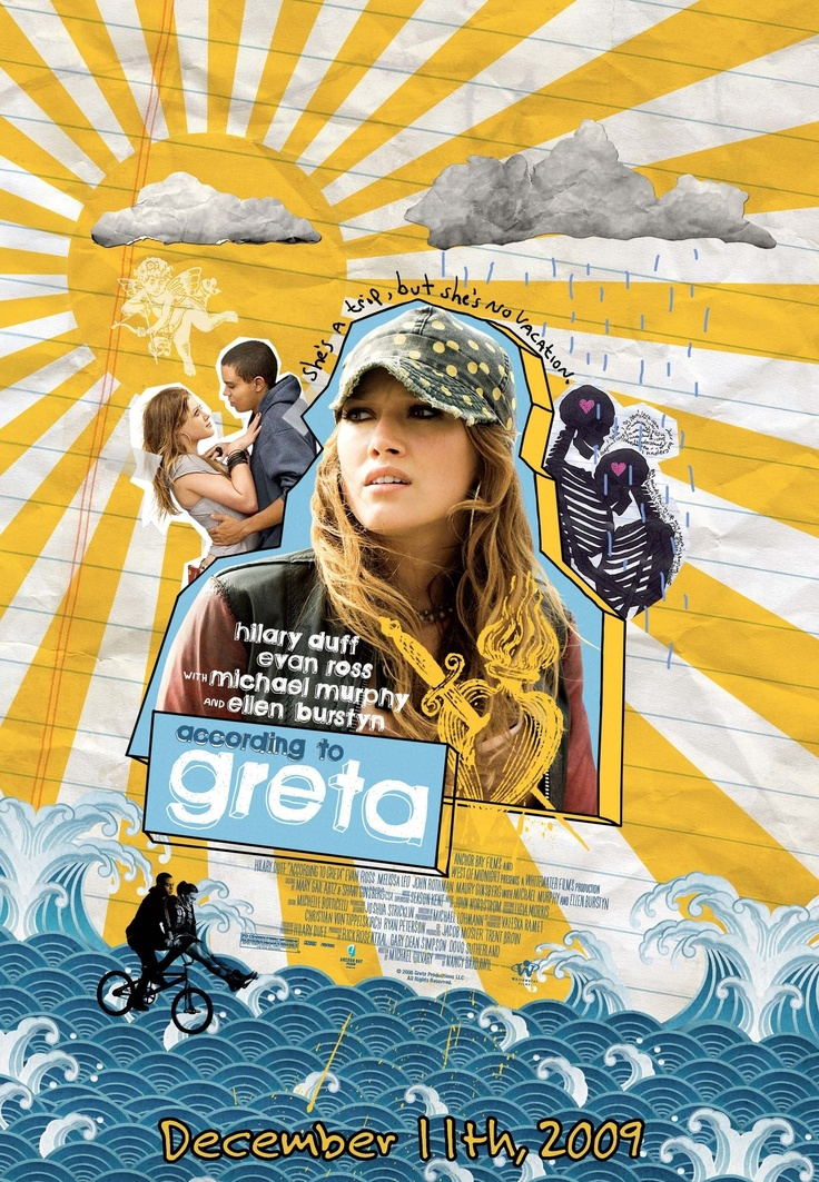 'According to Greta' with Ellen Burstyn, Michael Murphy, and the highly underrated Hilary Duff. (This was one of the best birthday presents I ever got!) :) ------- http://www.imdb.com/title/tt1059925