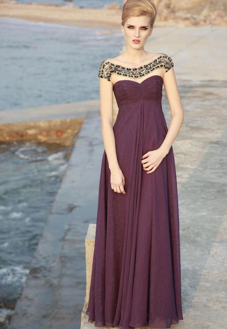 newest_affordable_purple_floor_length_sweetheart_ruched_jewel_neckline_evening_dress-