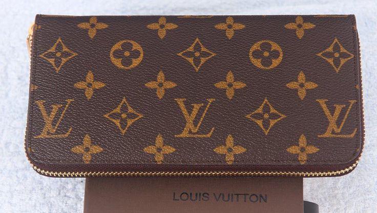 Кошелек Louis Vuitton LV на молнии c монограммами 20х9х2см #18504