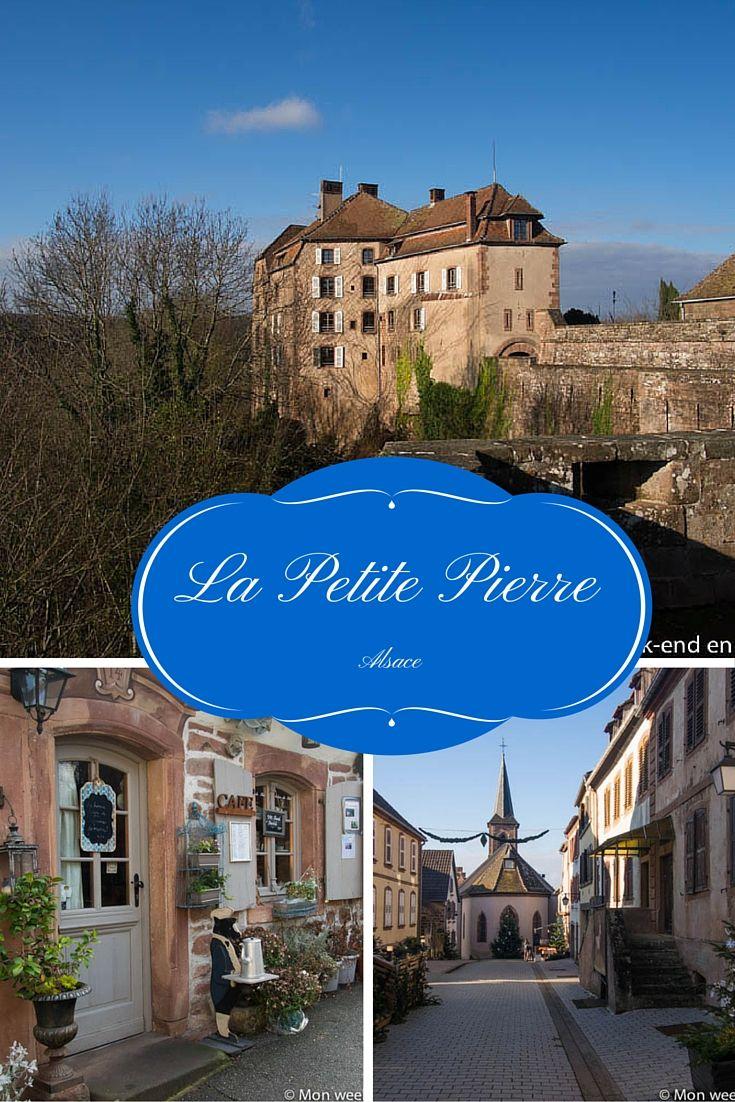 La Petite Pierre, village du parc naturel régional des Vosges du Nord en Alsace
