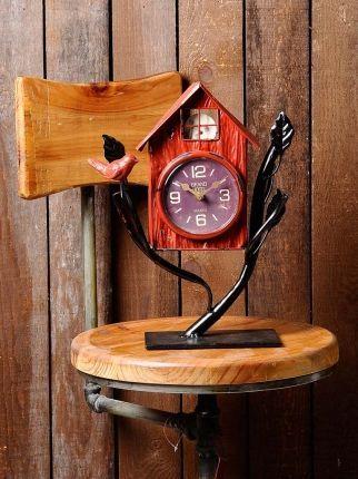 Kuş Yuvası Masa Saati