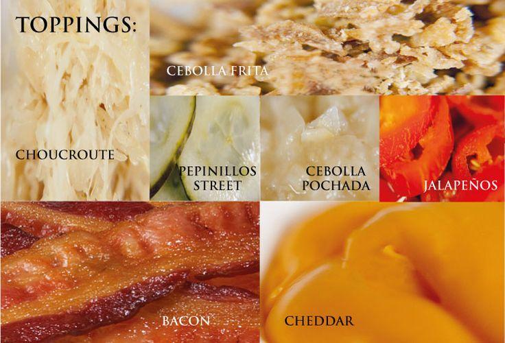Nuestros toppings