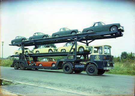 Guy Big J Transporter, MG Midget/Austin Healey Sprite Load