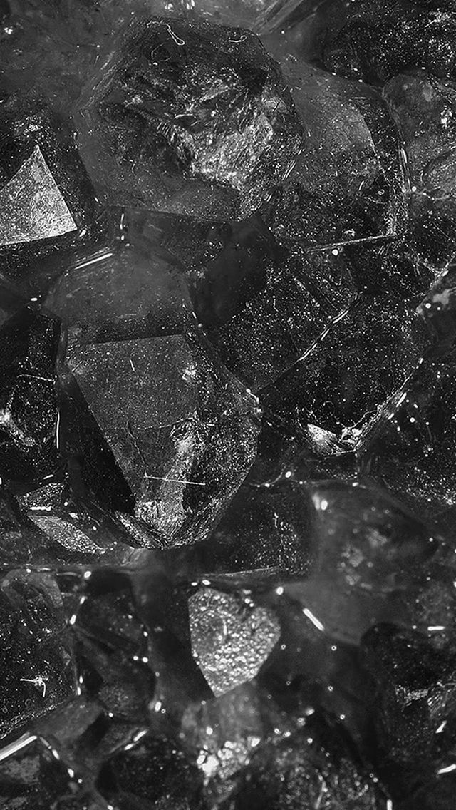 Abstract Diamond Jewel Texture Dark Pattern iPhone