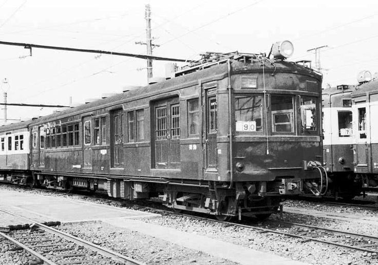 昭和50年代の鉄道写真 ぶんたの鉄道写真小屋 荷物・郵便電車