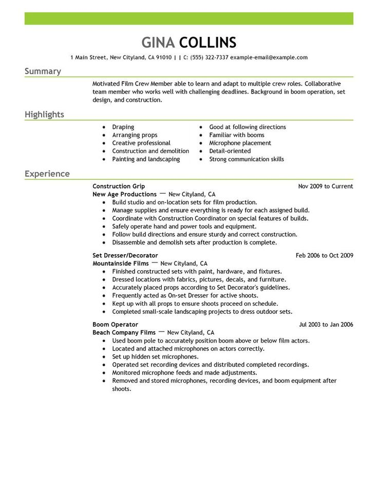 resume-examplegif (775×1016) Resume Templates Format and - landscaping skills resume