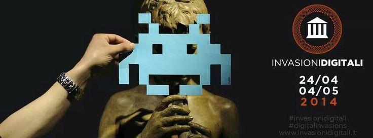 Le @Invasioni Digitali si avvicinano :) Tra poco più di un mese si #invade :) #cultura #arte #diffusione