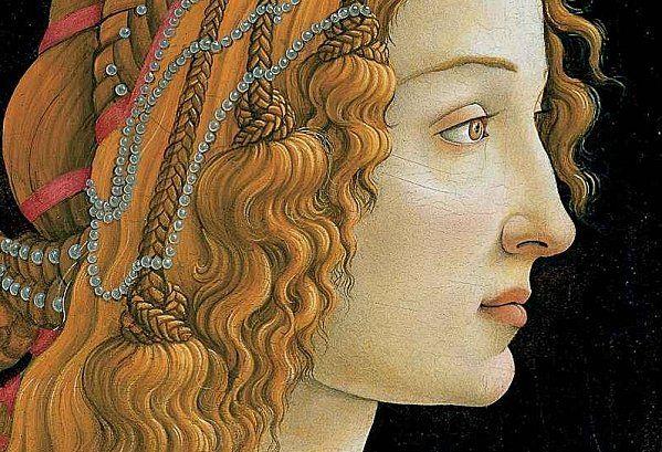 Boticelli Hair.