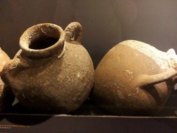 Amphores étrusques - fin du VI eme siècle avant JC- Epave du Grand Ribaud- Hyères - photo Gellius