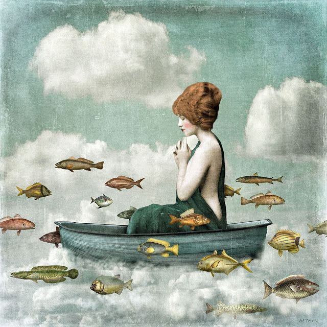 Live is but a dream by Beth Conklin            Surrealism