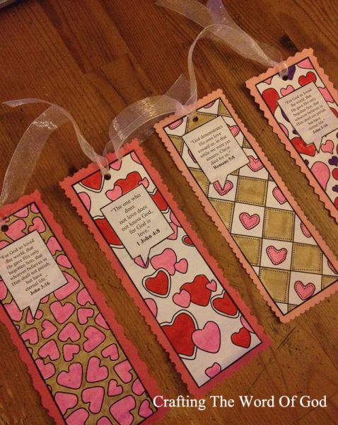 This craft will serve as a great alternative to a Valentines Day card. These also serve as a great gift to give to those who do not know the amazing love of God.Instructions Print the template on c…