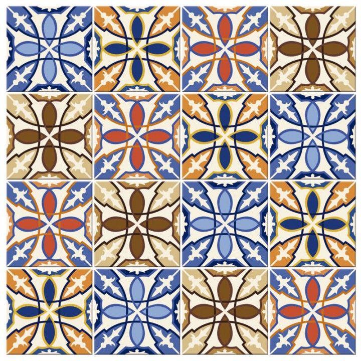 Adesivo para azulejo portugu s scrapbooking pinterest - Papel para azulejos de bano ...
