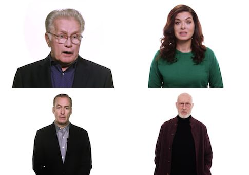 Asshats! A new video ofU.S. celebrities urging electors to vote against President-elect Donald Trump was made byan organization whose website was registered in a foreign country, despite its accusations th