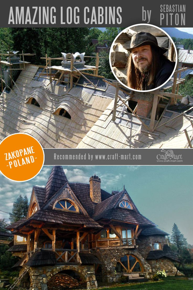 Amazing Fairy Tale-Style Log Cabins