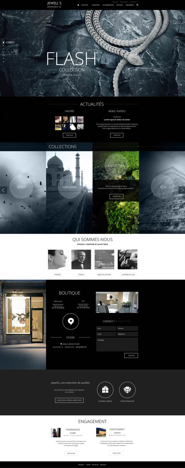 Cool Web Design, FLASH Collection. #webdesign #webdevelopment [http://www.pinterest.com/alfredchong/]
