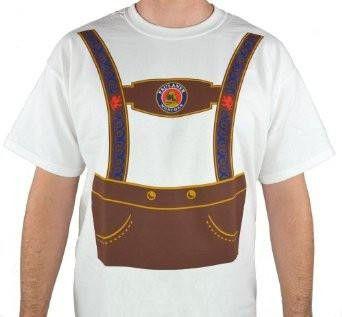 Paulaner Oktoberfest Lederhosen Costume T-Shirt
