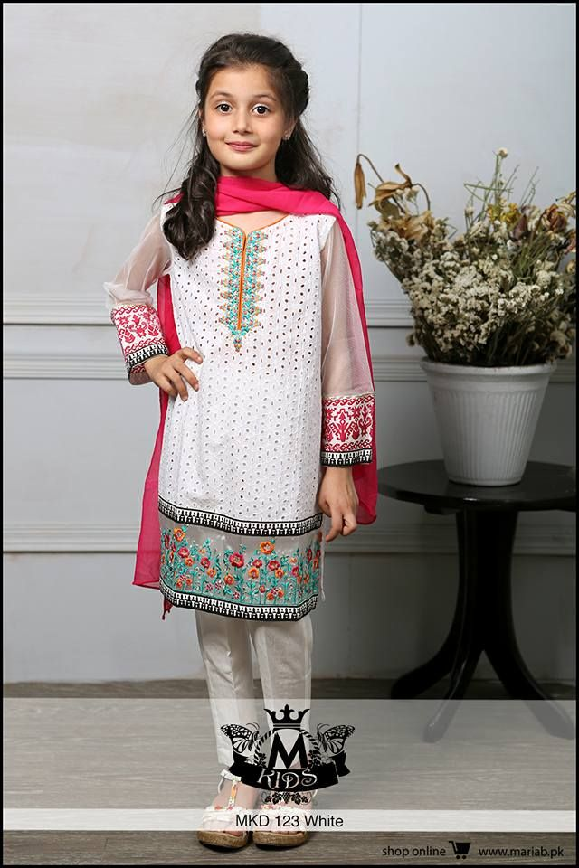 c4970442a2 maria b latest collection for kids | ikhlaq in 2019 | Pakistani kids ...