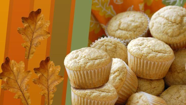 Muffins de fubá, rápidos e saborosos