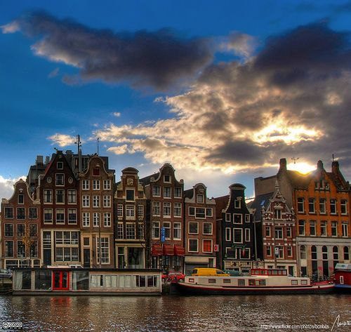 Amsterdam...a wonderful place to get lost in. Everything is just so beautiful, and the people were incredibly kind