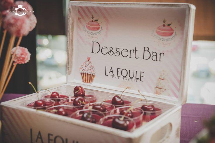 Dessert bar by Patisserie La Foule