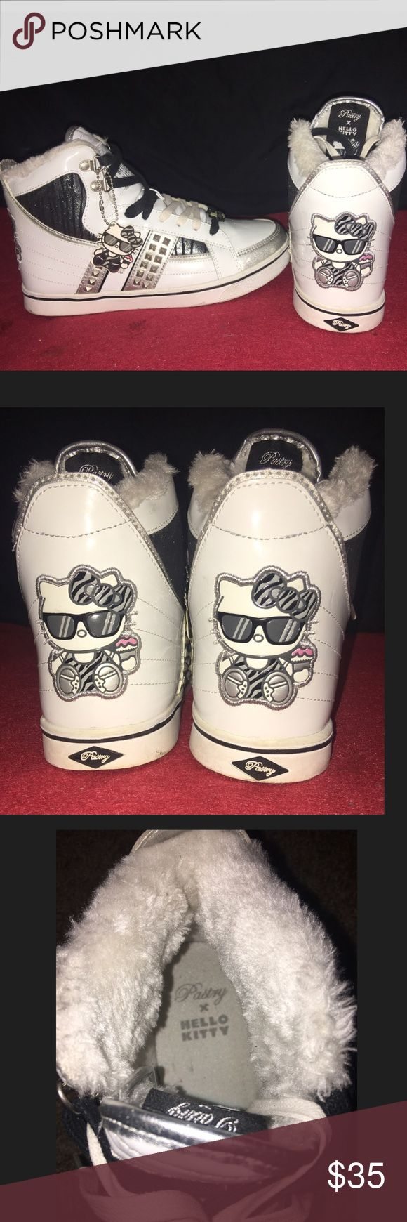 Pastry X hello kitty sneakers Pastry shoes are by celebrities Angela & Vanessa Simmons. These are pre owned Hello Kitty Shoes Sneakers