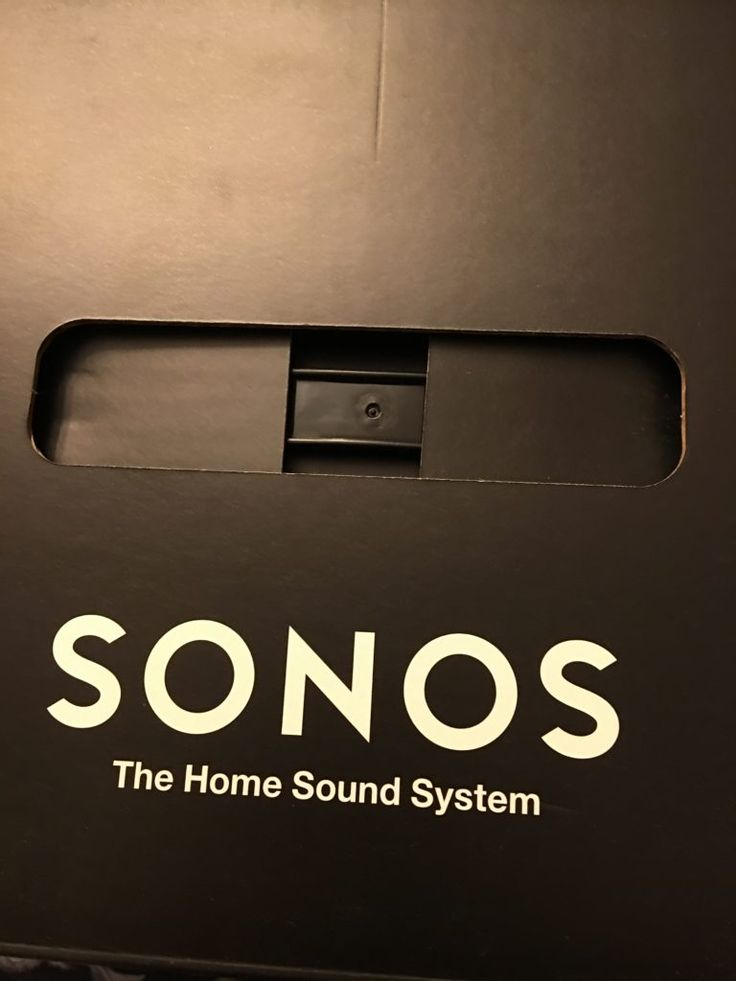 Everything is connected and now, so is music in your home with the new Sonos system. There are a variety of bars to chose and they provide big sound.