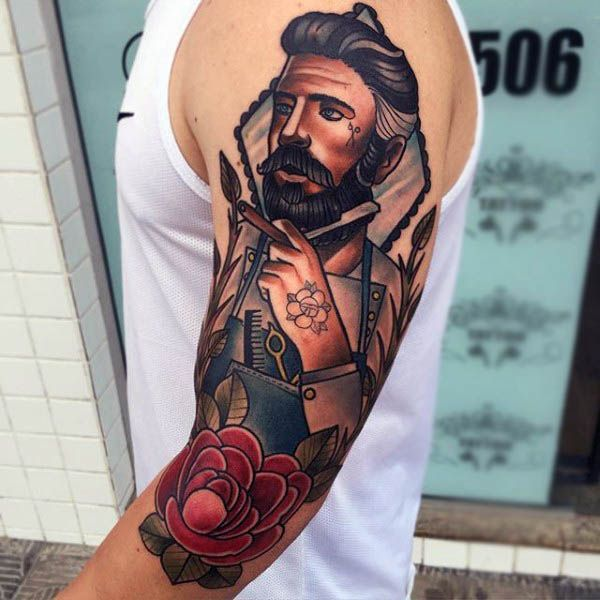 Tattoostraditional On Pinterest: 100 Neo Traditional Tattoo Designs For Men