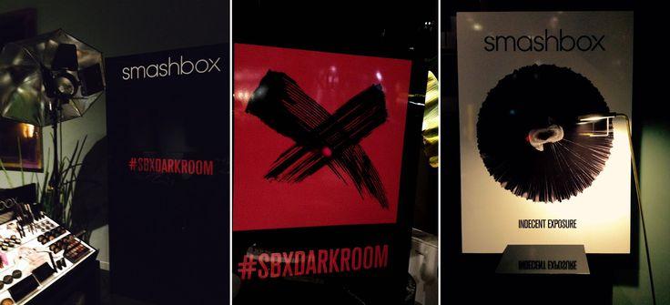 """Indecent Exposure"" by Smashbox #sbxdarkroom at Baxter Cinema Thanks to Smashbox and estee Lauder Group #baxtercinema"