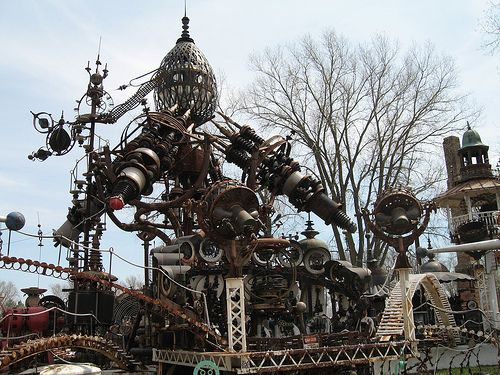 Forevertron  Main Recycled Materials: Scrap Metals  Artist: Tom Every: Metal Sculptures, Scrap Metals, Metals Sculpture, Sculpture Gardens, Metals Buildings, American Pickers, Junk Art, Spaces Travel, Recycle Art