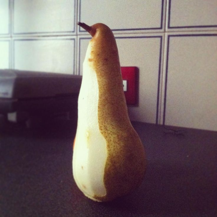 I have a #penguin i have a #pear #pearguin #ppap