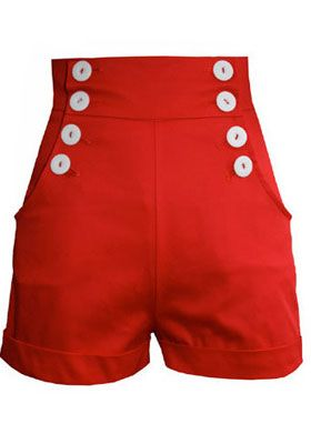 шорты в морском стиле