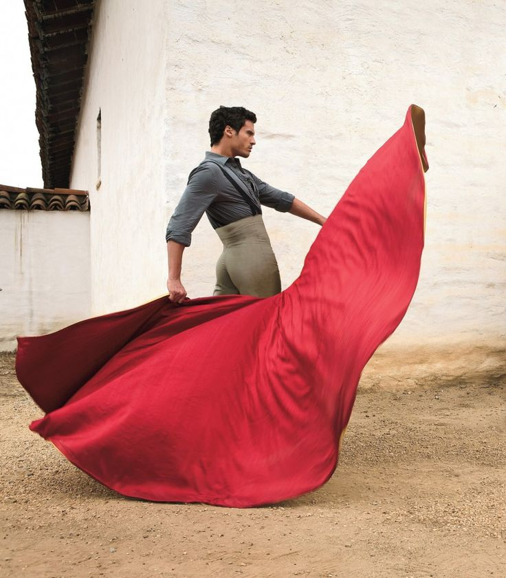 Timo Nunez. I'm not a fan of bullfights, but I like the matador's costumes and balletic movements.