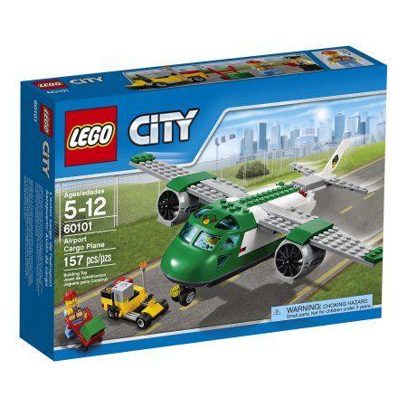 Lego City Airport Cargo Plane 60101, Multicolor