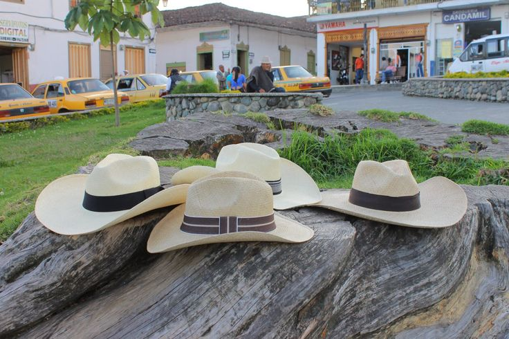 Sombrero aguadeño, hand crafted by the people from Aguadas Caldas Colombia