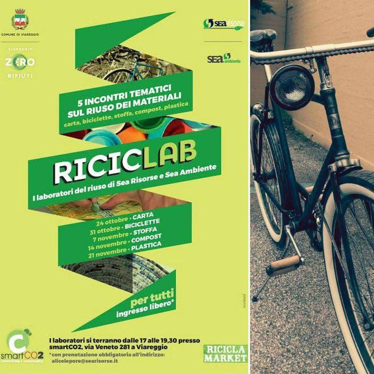 La riparo e la decoro perché #ilovemybike  #Riciclab #riciclocreativo #ratrodbikes #zerowaste #biciclette #viareggio